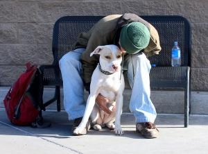 HomelessWithDog